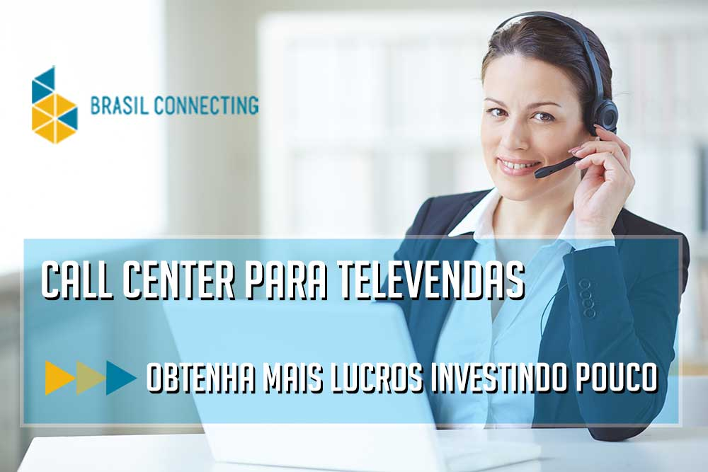 Call center para televendas