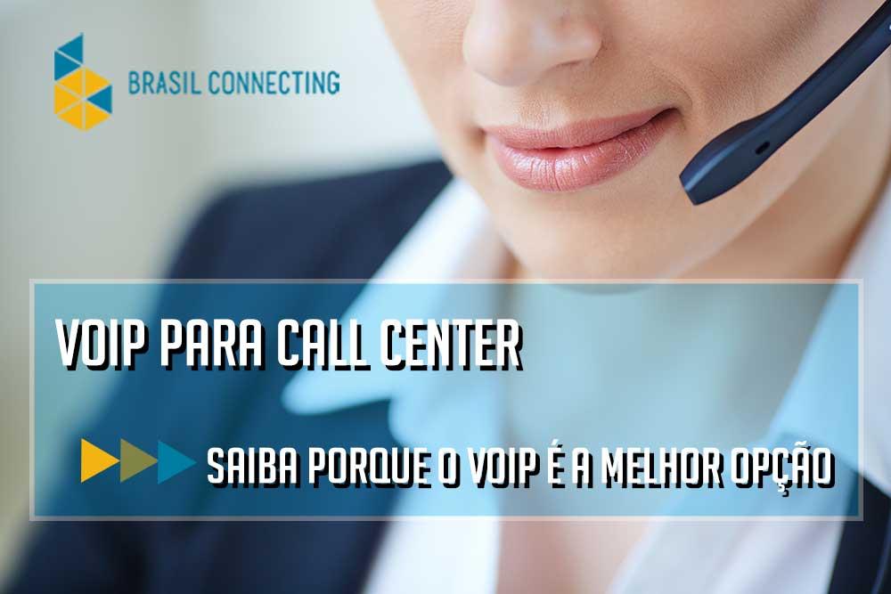 Voip para call center