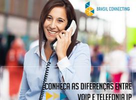 Conheça as diferenças entre VoIP e telefonia IP