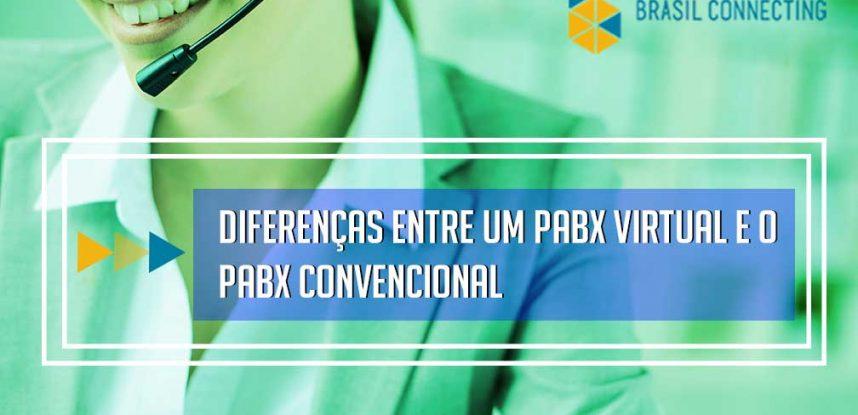 Diferenças entre um PABX Virtual e o PABX Convencional